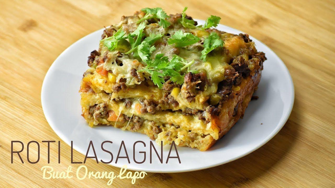 Roti Lasagna Lasagna Roti Recipes