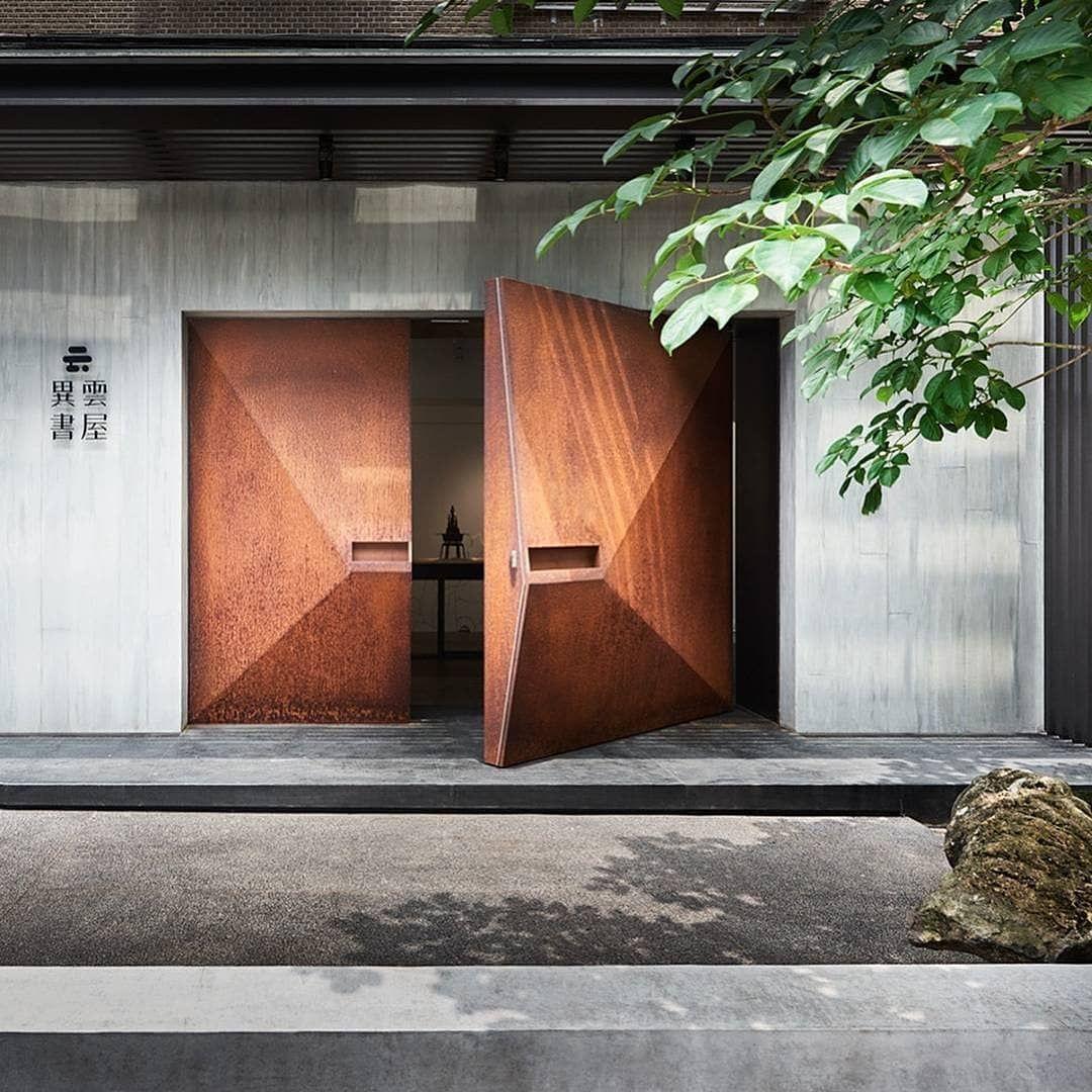 Architecture Design On Instagram Archdesigndaily Yiyun Art Gallery Designed By Ba Interior Architecture Design Modern Style House Plans Door Design Modern