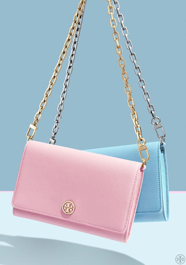 a126bc860 Tory Burch Robinson Chain Wallet | Tory Burch Holiday 2015 | Gift ...