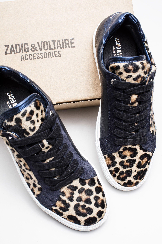 toiles - Chaussures De Sport Pour Femmes / Noir Zadig & Voltaire bW6jKKVp
