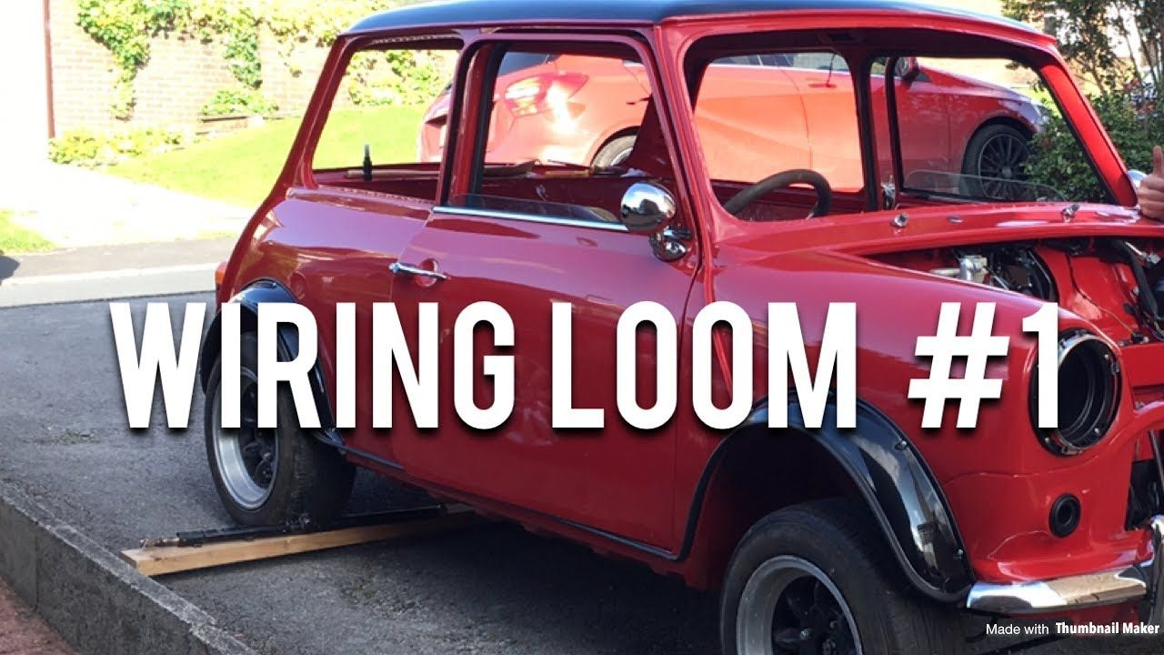 Phenomenal Classic Mini Restoration Wiring Loom Part 1 Cars Vehicles Wiring Digital Resources Dimetprontobusorg