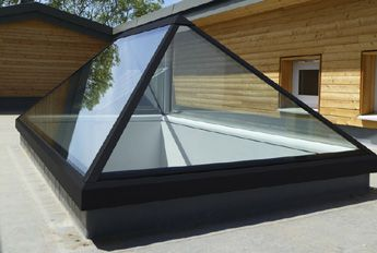 Rooflighting A Modern Architectural Feature Roof Lantern Roof Design Flat Roof Extension