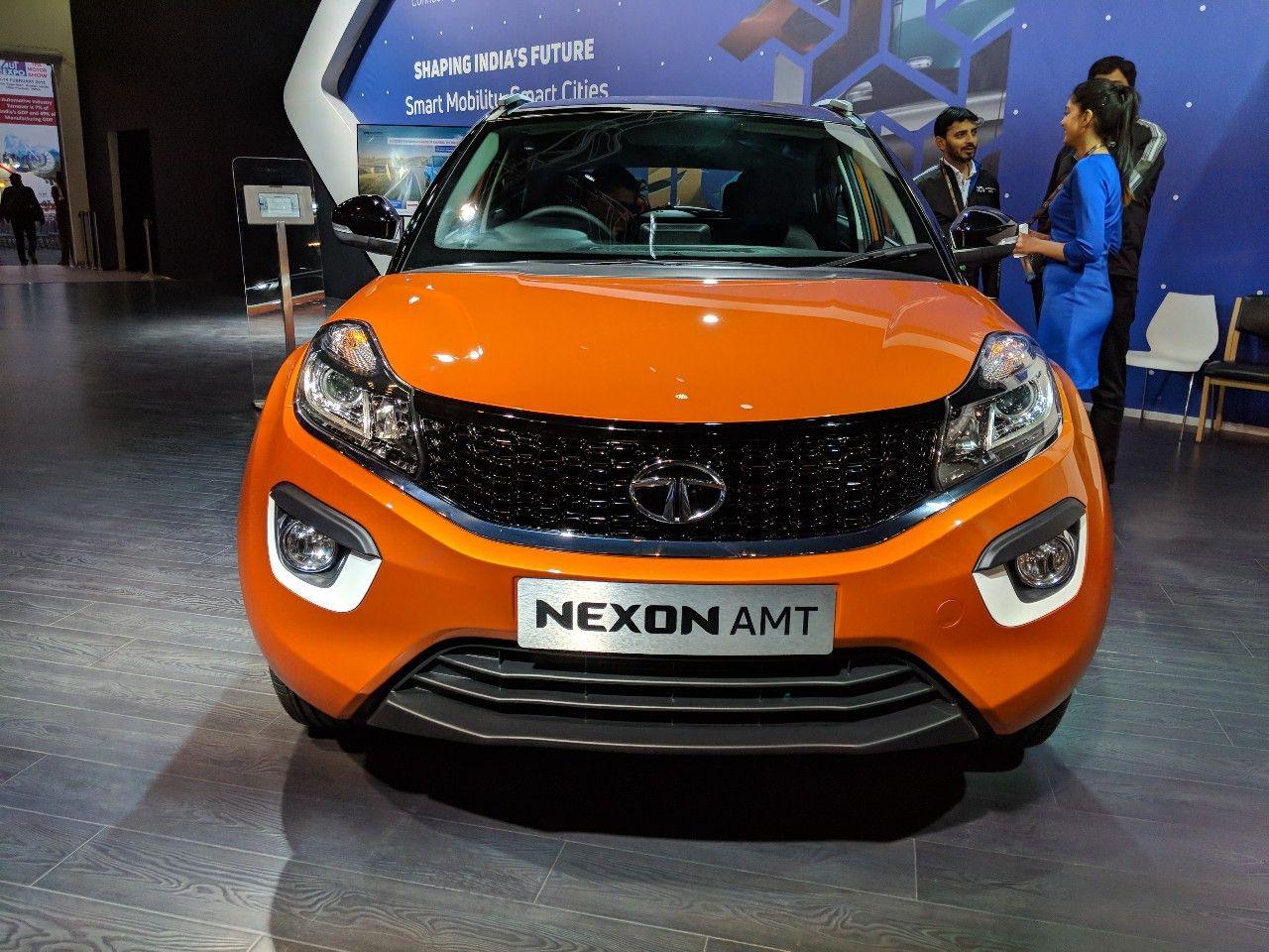 Tata Nexon AMT launched at INR 9.41 lakhs Compact suv