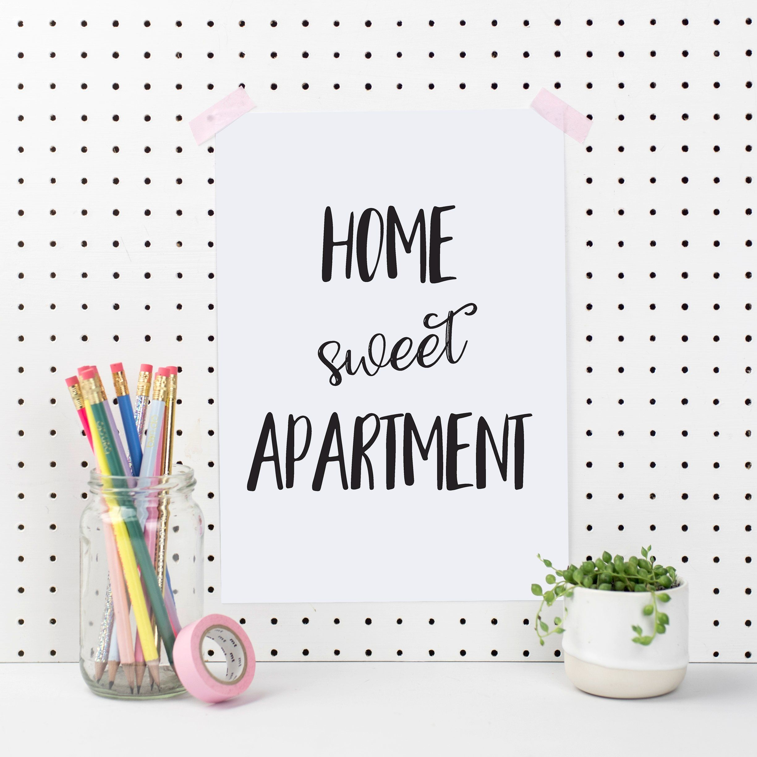 Home Sweet Apartment Art Print In 2020