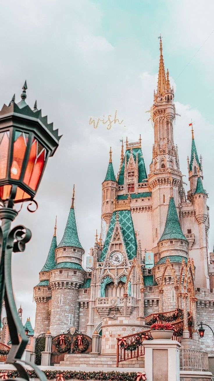 Cinderella Castle Disney Phone Wallpaper Cute Disney Wallpaper Wallpaper Iphone Disney