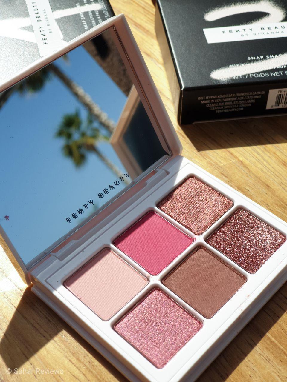 Fenty Beauty Snap Eyeshadow Rose Palette