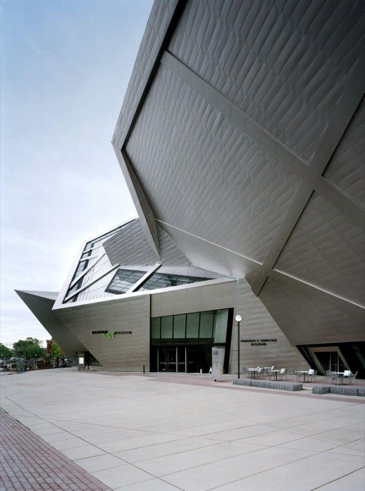 Denver Art Museum Studio Libeskind Zeitgenossische Architektur Architektur Innenarchitektur Und Baukonstruktionen