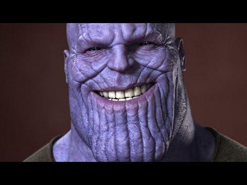 This Is How They Transform Josh Brolin Into Thanos Youtube Josh Brolin Up The Movie Mo Cap
