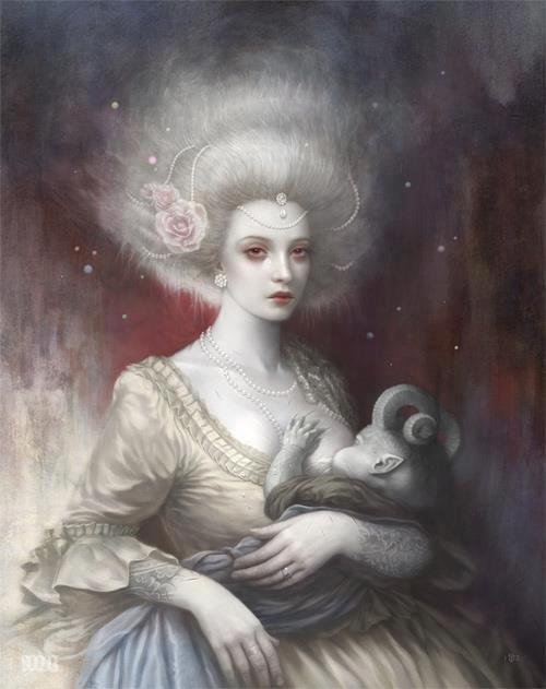 "Tom Bagshaw  ""Lullaby""  #illustration"
