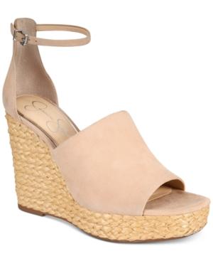 47b58a02894 Jessica Simpson Suella Espadrille Wedge Sandals - Tan/Beige 5.5M ...