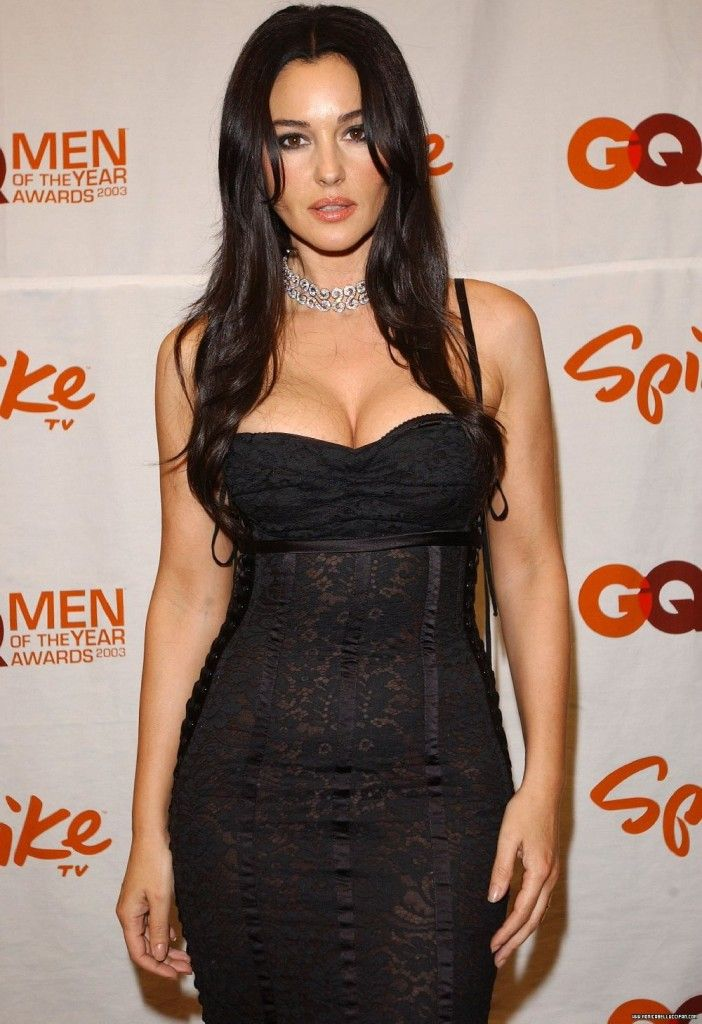 Monica Bellucci Sexy Dress 702x1024