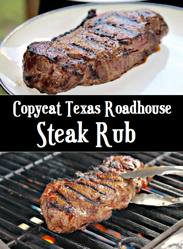 Copycat Texas Roadhouse Steak Rub #steakrubs Copycat Texas Roadhouse Steak Rub #steakrubs