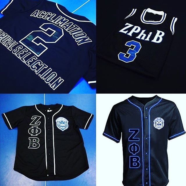 I Love This Baseball Jersey Zeta Phi Beta Phi Beta Sigma Zeta