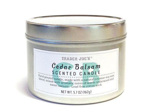 Trader Joe S Cedar Balsam Candles Amazing With Images Balsam
