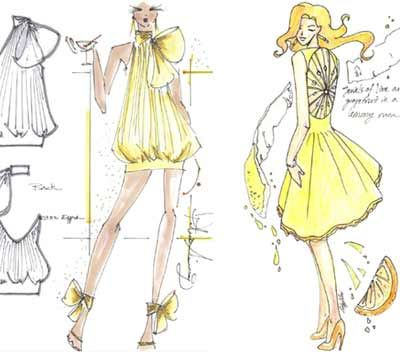 Teenage fashion designers competition