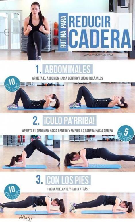 10 rutinas fitness que puedes hacer en tu casa - Para adelgazar muslos - #- #10 #ADELGAZAR #Casa #En...