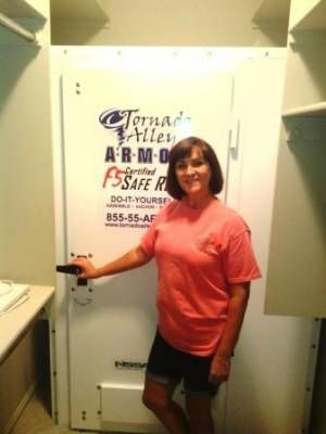 Want Your Storm Shelter In A Closet? Tornado Alley Armor Safe Rooms Can Be  Installed In Walk In Or Standard Closets.