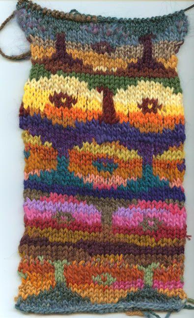 Kaffe Fassett - Persian Poppies | tricoter | Pinterest | Stricken ...