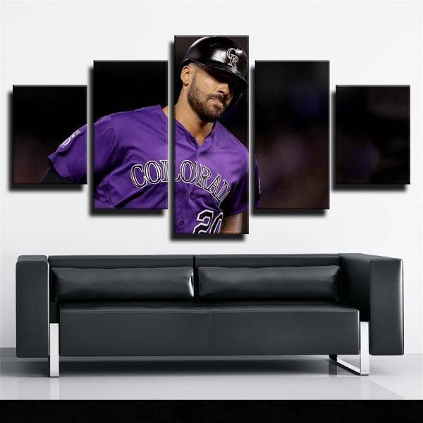 Shopping perfect MLB colorado rockies ian desmond framed art painting from glcanvasprints.com now!Colorfully improve your wall today with canvas picture decor you love that won't break the bank, hang your framed art prints in anywhere blank walls aren't welcome.This fantasy home art for colorado rockies fans,you can find more ian desmond pictures on wall ideas from our site.#poster #canvasart #glcanvasprints #iandesmond #coloradorockies