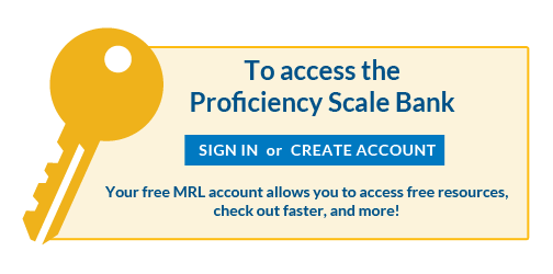 Marzano Research Laboratory- Proficiency Scale Bank: make an account, search for CCSS, print the proficiency scale; or make one from a template