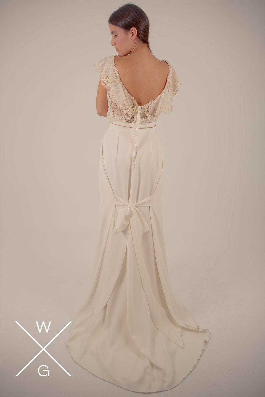 White Chiara By White Gatache White Chiara By White Gatache     #wedding #weddingdrees #bridal #bride #novias #atelier #vintage #whitegatache #whitechiara #noviasdiferentes #noviasespeciales #style #lovevintage #detallesnovias