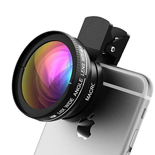 Vtin 2 In 1 Professional HD Camera Lens Kit ( 0.45X Wide