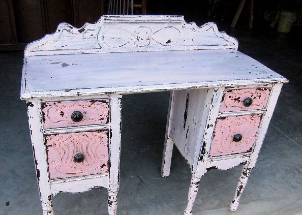 custom paint mix using miss mustard seed s milk paint, home decor, painted furniture