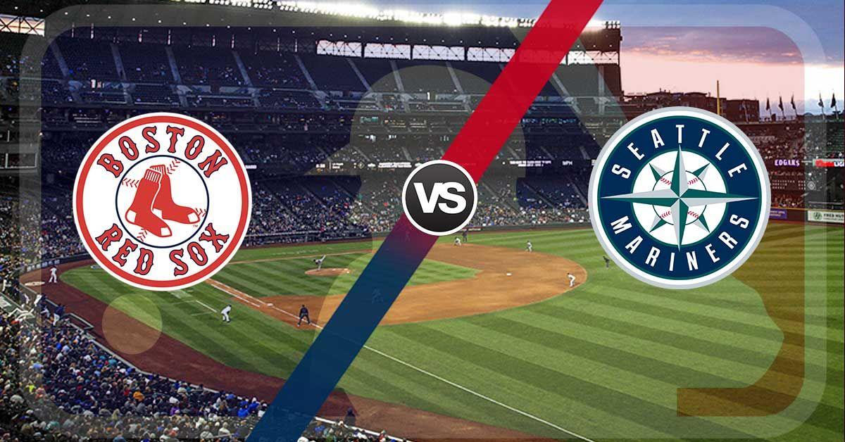 Watch Boston Red Sox Vs Seattle Mariners Mlb Live Seattle Mariners Boston Red Sox Mariners Baseball