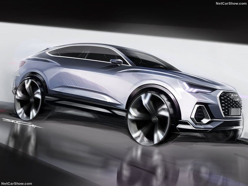 Hot Road News On Instagram Audi Q3 Sportback 2020 By Audi Audi Q3 Car Interior Sketch Audi