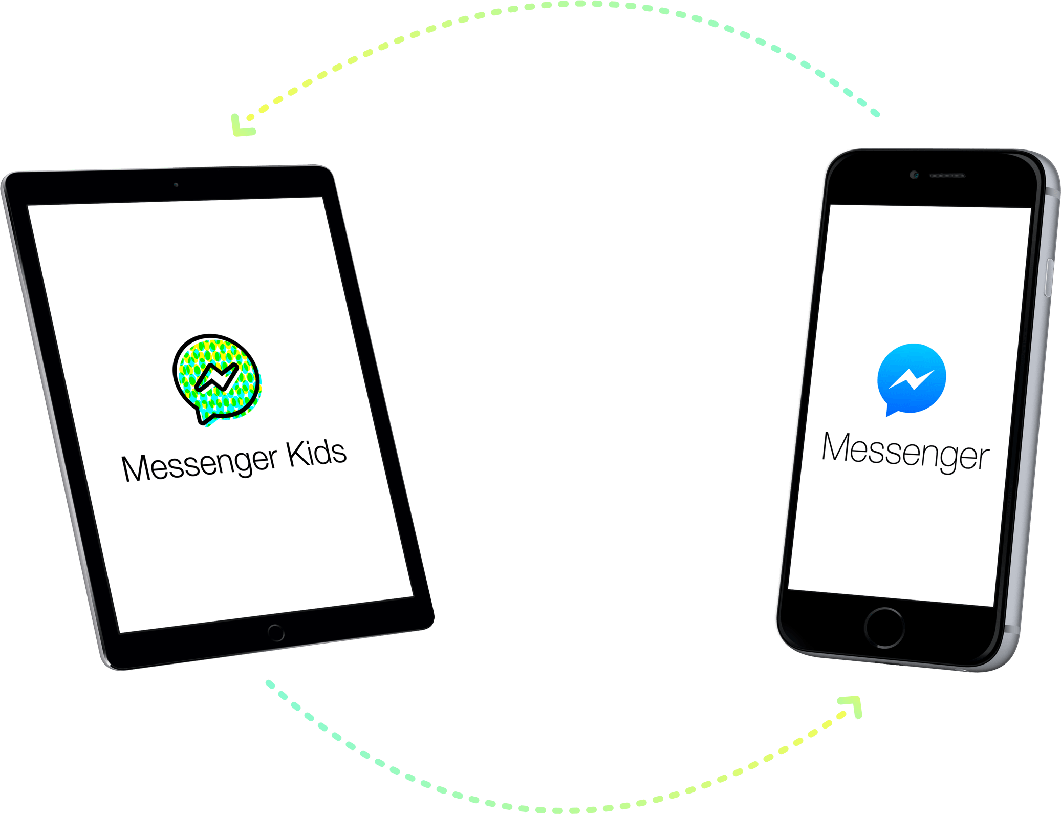 tablet messenger app for kids Teaching, Product launch