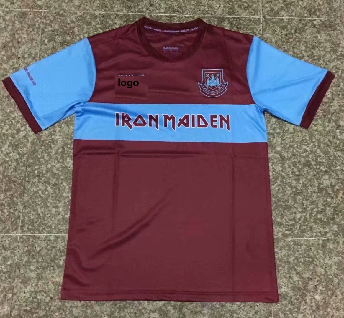 19/20 Thai Quality adult West Ham x Iron Maiden collection ...
