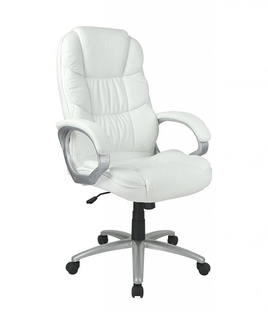 White Leather Executive Chair | Executive Chair | Pinterest ...