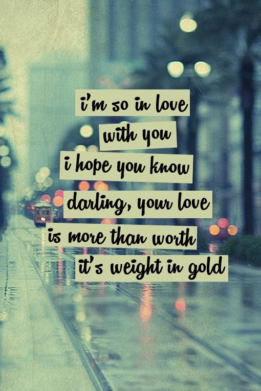 3 ))) i'm so in love with you i hope you know just say you won't let go V^V  <3 V^V... | Love songs lyrics, Song lyric quotes, Song quotes
