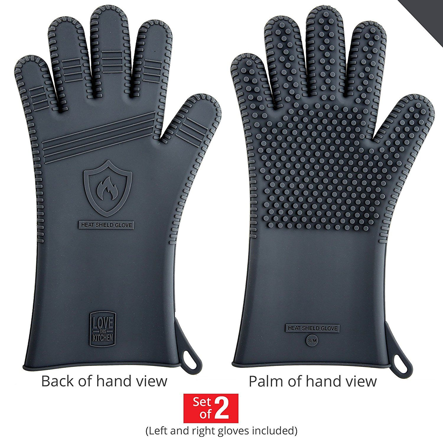 Nice Top 10 Best BBQ Gloves in 2017 Reviews Silicone bbq