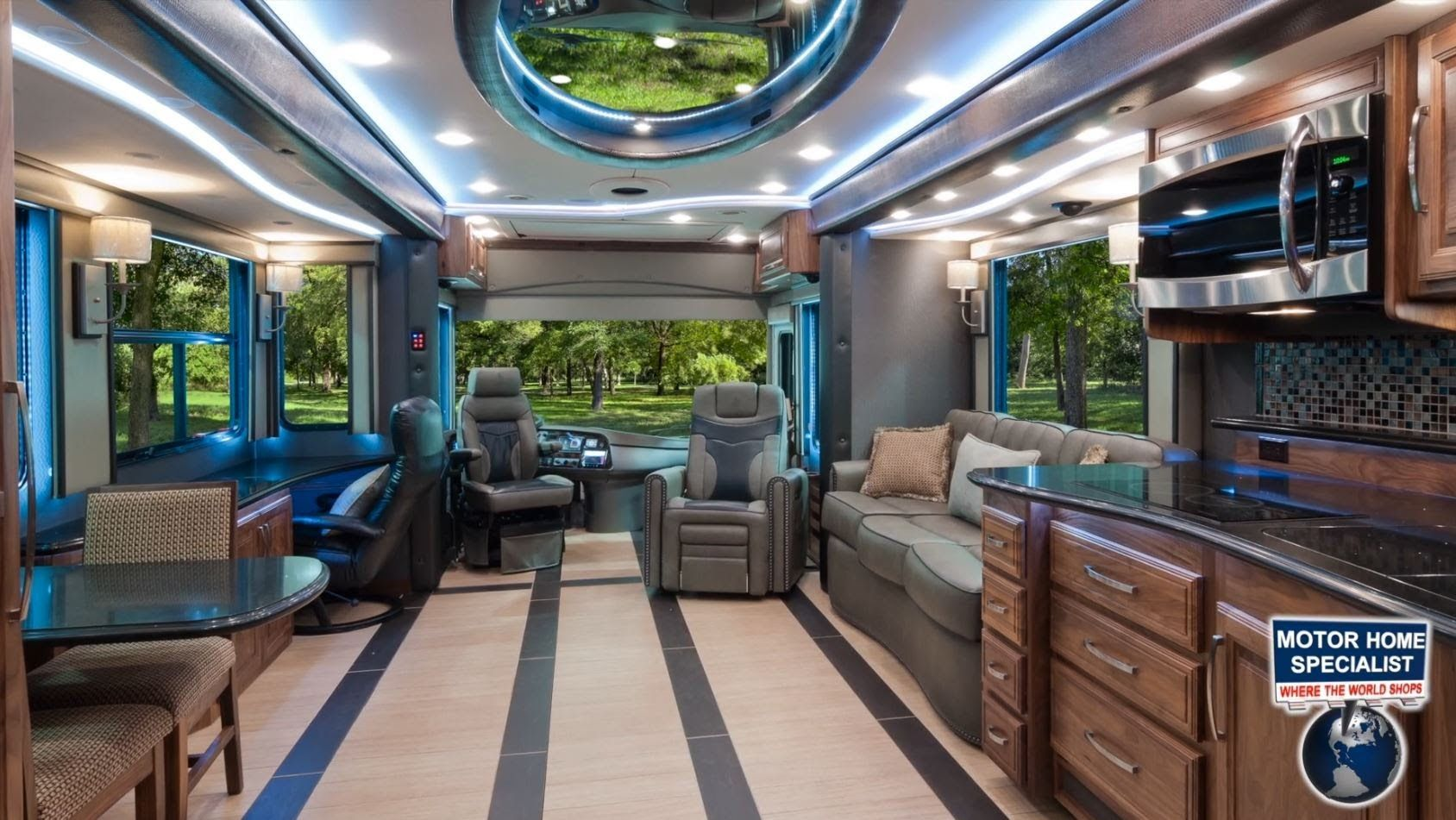 2014 Foretravel Ih45 Luxury RV Review At MHSRV