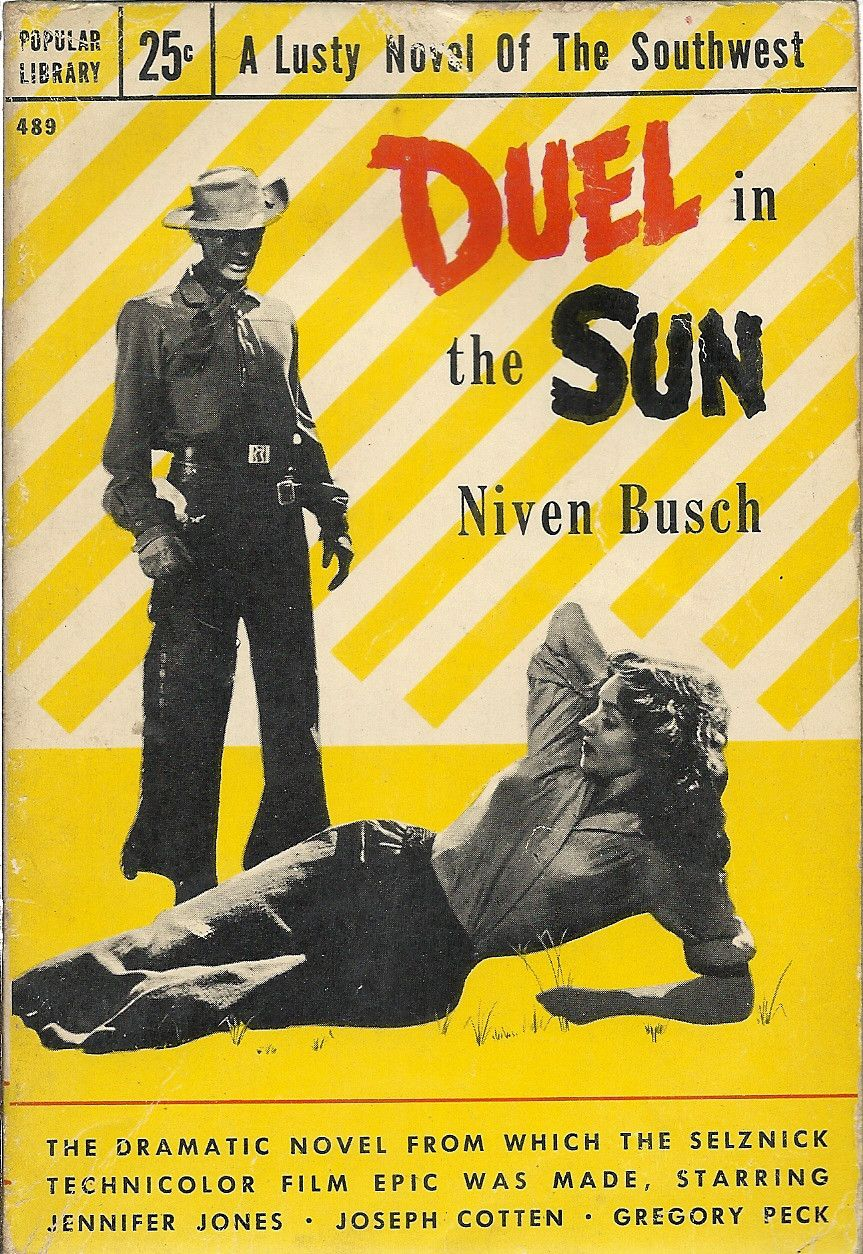 Duel in the sun classic movie posters pulp fiction