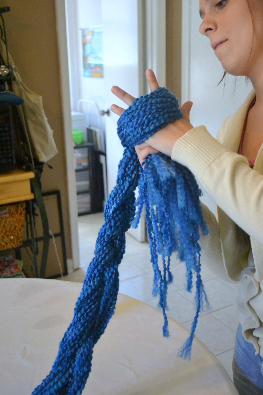 EASIEST ONE YET -- very easy diy scarf TUTORIAL. Basically ...