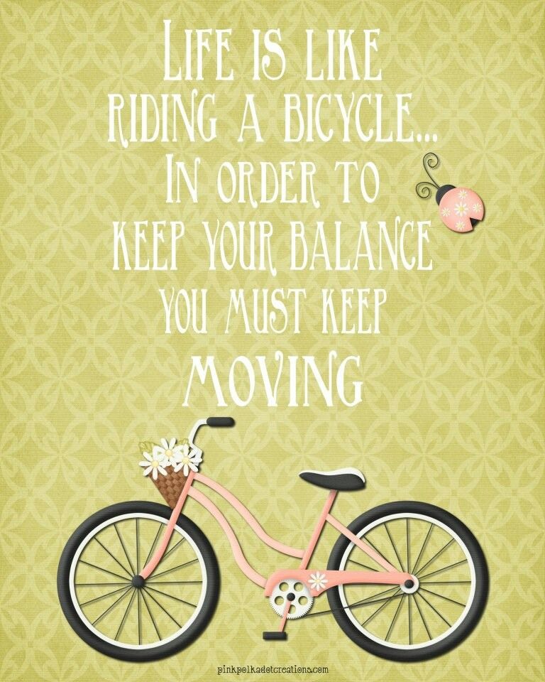 Bike Quotes: Quotes About Bicycles. QuotesGram