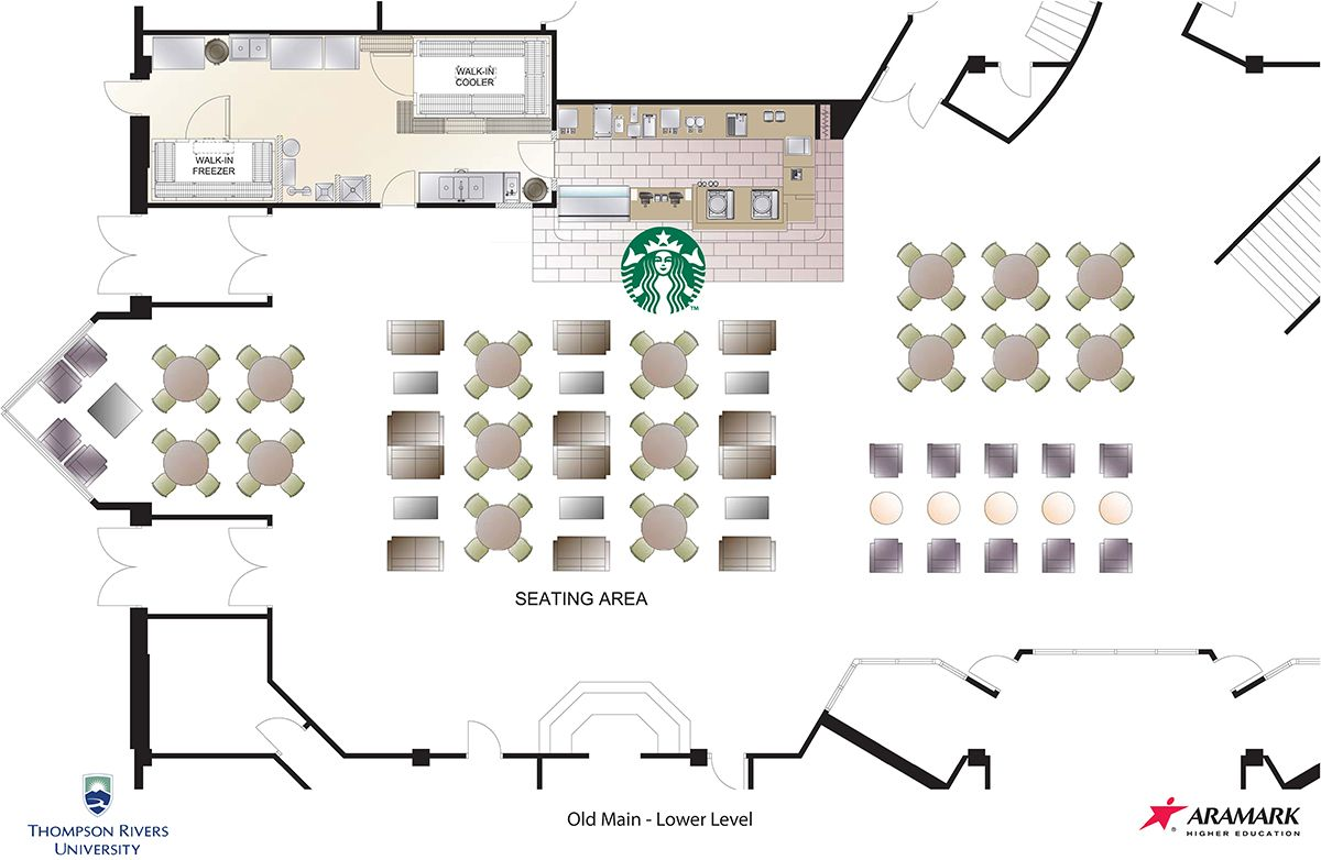 typical starbucks floor plan - Google Search | plan | Pinterest ...