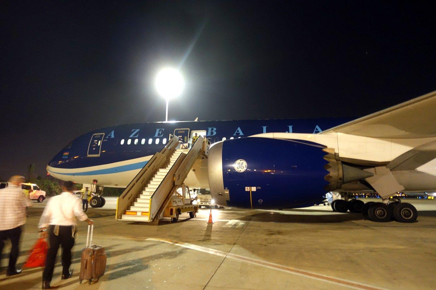 Flight Review Azerbaijan Airlines (7878) Business Class