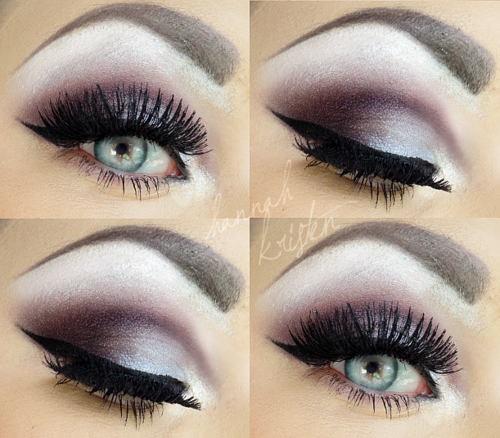 The cool tones and purples are perfect for fall/winter