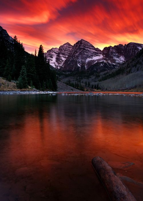 coiour-my-world: End of the World at Maroon Bells | I finally...