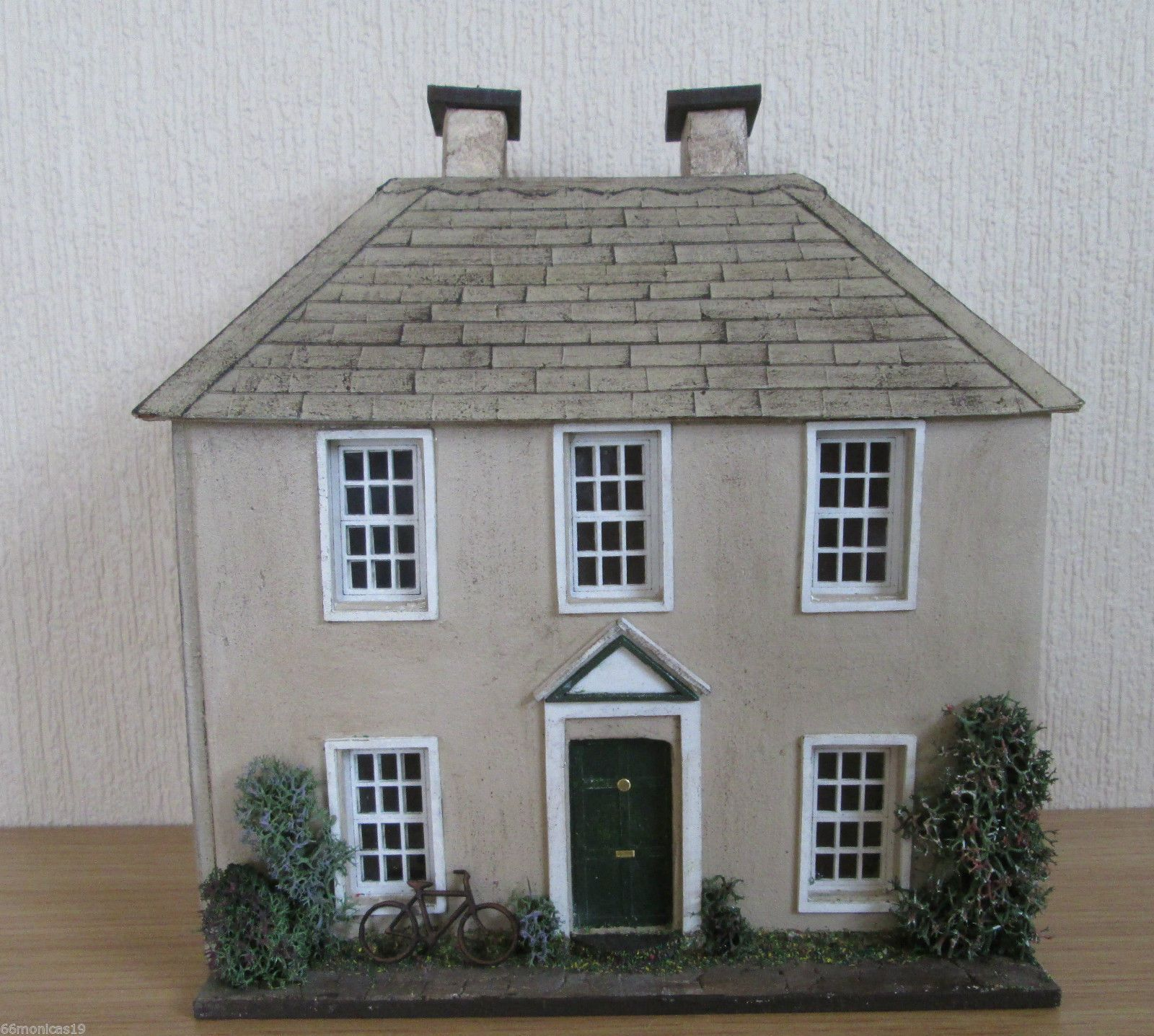 1/48 QUARTER SCALE GEORGIAN STYLE DOLLS HOUSE - HAND BUILT | eBay ...