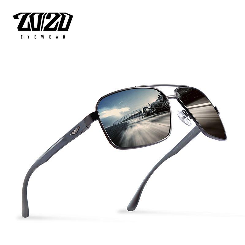 67b16eb341 20 20 Brand Design New Aluminum Polarized Sunglasses Men Travel Driving Sun  Glasses Classic Male Eyewear Gafas PZ7014   Price   15.90  nerd