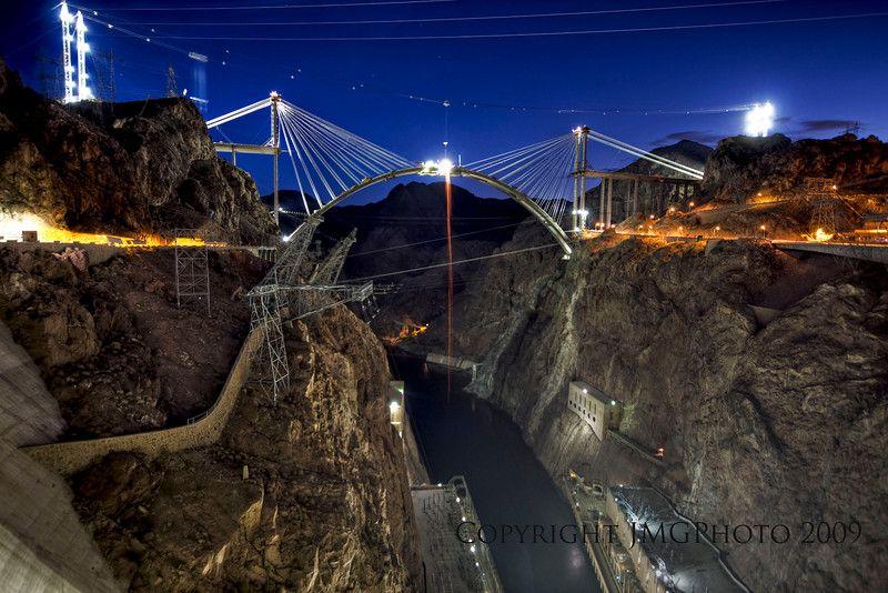 Hoover Dam Bridge (Actually name is Mike O'Callaghan-Pat Tillman ...
