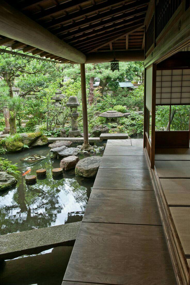 Pin By Beverly Patrick On I Japan Japanese Garden Design Japan Garden Backyard
