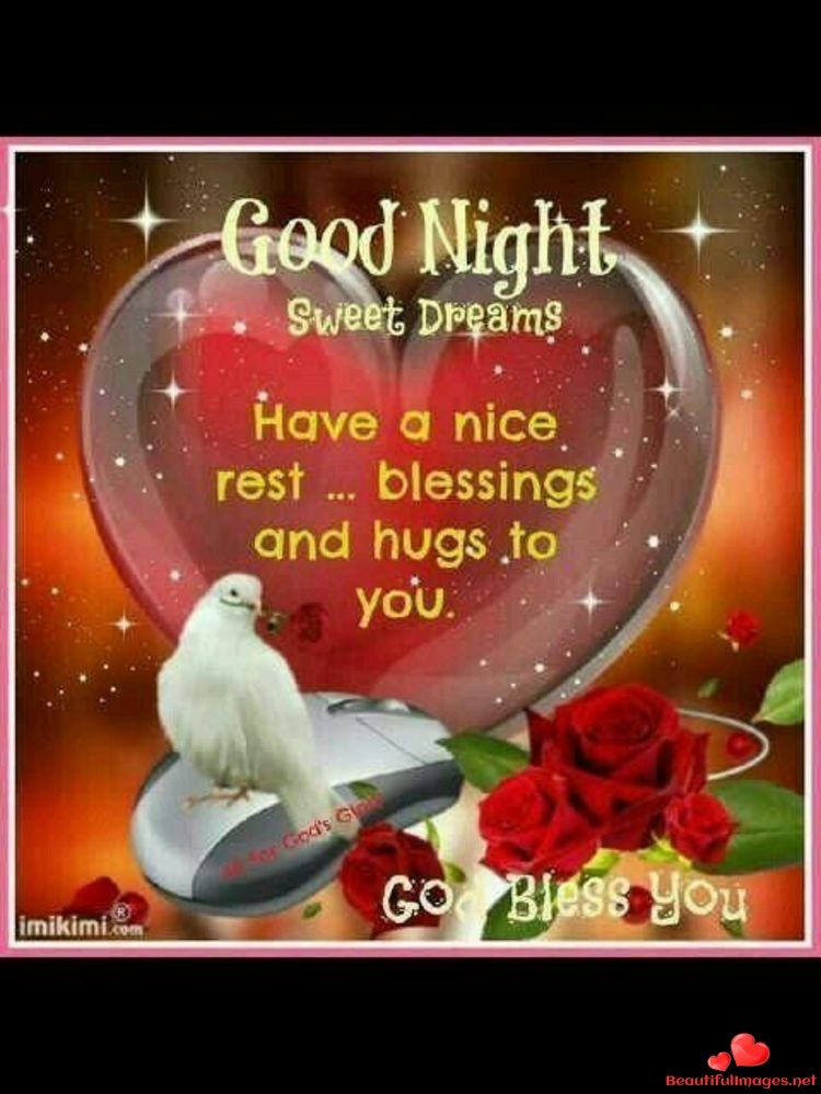 Have A Nice Evening My Friend God Bless You