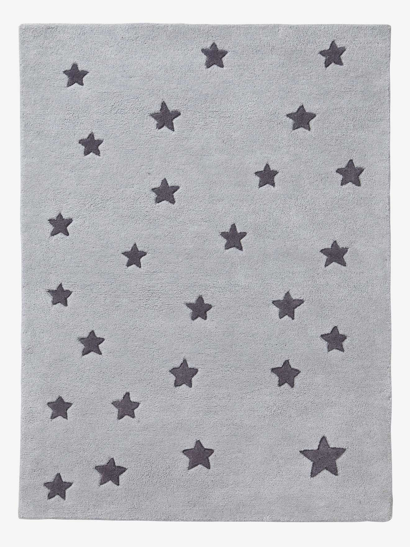 Rug - grey/star, Storage & Decoration | Vertbaudet | For Luca and my ...