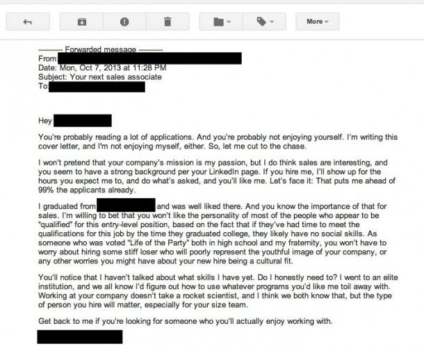 The Worst Cover Letter Ever Written Literally Cover Letter For