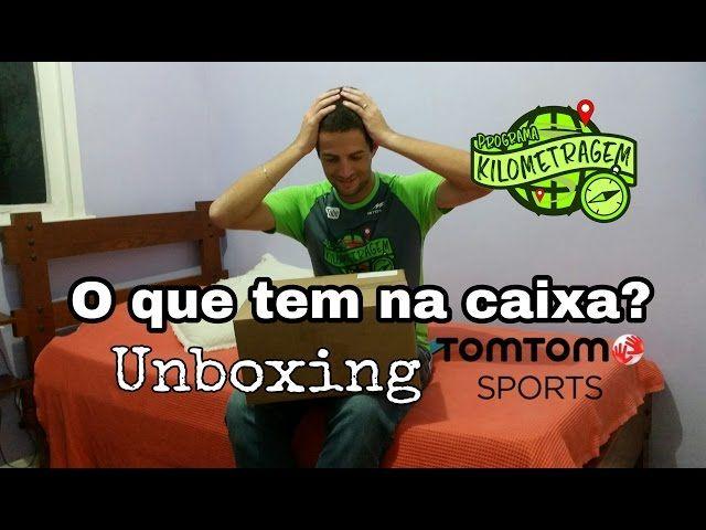 Unboxing TomTom Adventurer